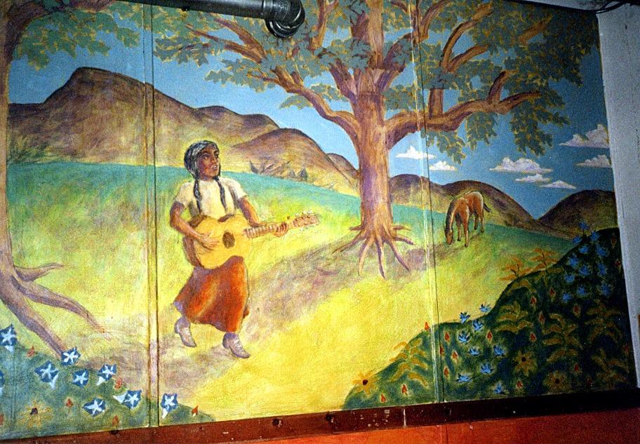 Bueno y Sano mural