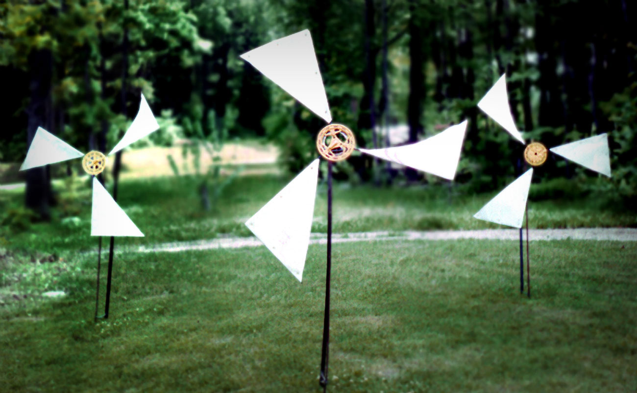 Whirligigs by Trace Meek