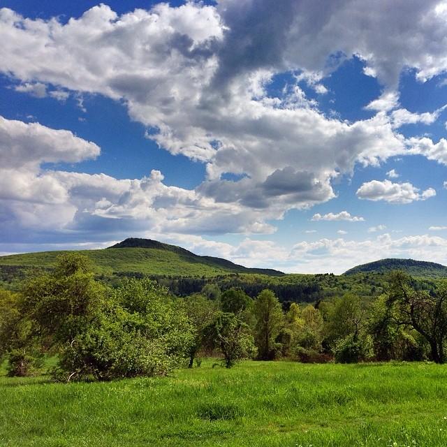 Mount Norwottuck, as seen from Mount Pollux