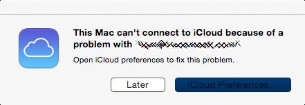 iCloud problem