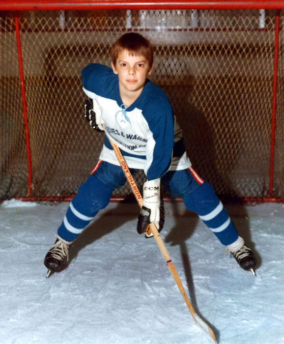 Trace at age 8, as a Mite